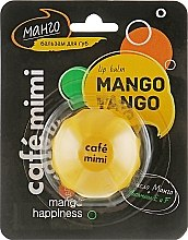 "Духи, Парфюмерия, косметика Бальзам для губ ""Манго"" - Cafe Mimi Lip Balm Mango Tango"