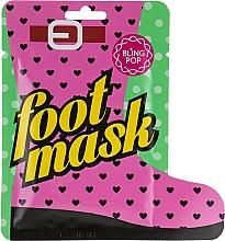 Духи, Парфюмерия, косметика Носочки для педикюра с маслом ши - Bling Pop Shea Butter Healing Foot Mask