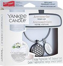 Духи, Парфюмерия, косметика Ароматизатор для автомобиля - Yankee Candle Car Jar Charming Scents Geometric Fluffy Towels