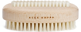Духи, Парфюмерия, косметика Щетка для ногтей, белая - Acca Kappa Double Plastic Nail Brush