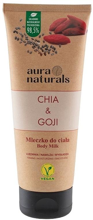 "Молочко для тела ""Чиа и годжи"" - Aura Naturals Chia & Goji Body Milk — фото N1"