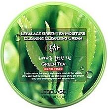 Духи, Парфюмерия, косметика Очищающий крем для лица - Lebelage Green Tea Moisture Cleaning Cleansing Cream