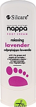 Духи, Парфюмерия, косметика Крем для ног расслабляющий с лавандой - Silcare Nappa Foot Cream Relaxing Lavender