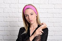 "Повязка на голову, розовая ""Be Beauty"" - MakeUp — фото N2"