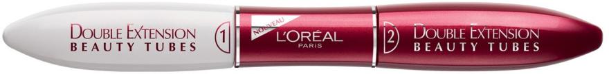 Тушь для ресниц - L'Oreal Paris Double Extension Beauty Tubes — фото N2