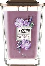 Духи, Парфюмерия, косметика Ароматическая свеча - Yankee Candle Elevation Sugared Wildflowers