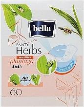 Духи, Парфюмерия, косметика Прокладки Panty Herbs Sensetive Plantago, 60шт - Bella