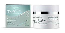 Духи, Парфюмерия, косметика Ухаживающая крем-маска - Dr. Spiller Alpenrausch Caring Cream Mask