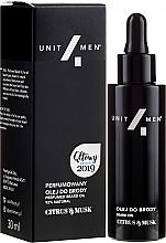 Духи, Парфюмерия, косметика Парфюмированное масло для бороды - Unit4Men Citrus&Musk Perfumed Beard Oil