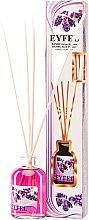 "Духи, Парфюмерия, косметика Аромадиффузор ""Лаванда"" - Eyfel Perfume Reed Diffuser Flower"