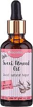 Духи, Парфюмерия, косметика Масло сладкого миндаля с пипеткой - Nacomi Sweet Almond Oil