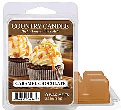 Духи, Парфюмерия, косметика Воск для аромалампы - Country Candle Caramel Chocolate Wax Melts