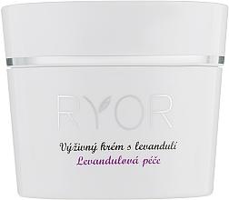 Духи, Парфюмерия, косметика Питательный крем с лавандой - Ryor Lavender Nourishing Face Cream