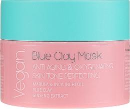Духи, Парфюмерия, косметика Маска с голубой глиной - Nacomi Blue Clay Mask Anti-Aging