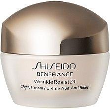 Духи, Парфюмерия, косметика Увлажняющий антивозрастной ночной крем для лица - Shiseido Benefiance WrinkleResist24 Night Cream (тестер)