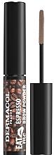 Духи, Парфюмерия, косметика Пудра для бровей - Dermacol Eat Me Espresso Eyebrow Powder