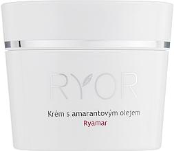 Духи, Парфюмерия, косметика Крем с амарантовым маслом для очень чувствительной кожи - Ryor Ryamar
