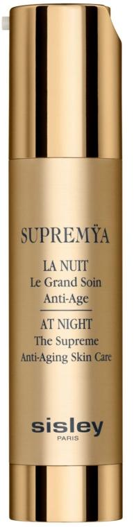 Комплексный ночной крем-сыворотка с омолаживающим эффектом - Sisley Supremya At Night The Supreme Anti-Aging Skin Care — фото N1