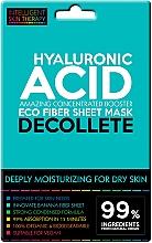 Духи, Парфюмерия, косметика Экспресс-маска для зоны декольте - Beauty Face IST Extremely Moisturizing Decolette Mask Hyaluronic Acid