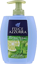 Духи, Парфюмерия, косметика Жидкое мыло - Felce Azzurra Antibacterico Mint & Lime