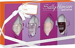 Духи, Парфюмерия, косметика Набор лаков для ногтей - Sally Hansen Holiday Collection Complete Salon Manicure (nail/4х5ml)