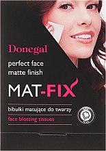 Духи, Парфюмерия, косметика Матирующие салфетки для лица - Donegal Face Blotting Tissues Mat-Fix