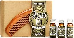 Духи, Парфюмерия, косметика Набор - Apothecary 87 Beard Kit (beard/oil/3х10ml + brush)