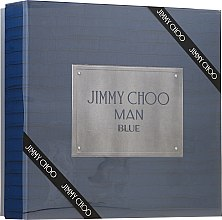 Духи, Парфюмерия, косметика Jimmy Choo Man Blue - Набор (edt/100ml + ash/balm/100ml + edt/7.5ml)