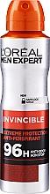 Духи, Парфюмерия, косметика Дезодорант - L'Oreal Paris Men Expert Invincible 96 Hours Deodorant Spray