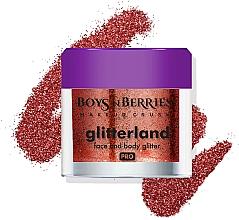 Духи, Парфюмерия, косметика Глиттер для лица и тела - Boys'n Berries Glitterland Face and Body Glitter