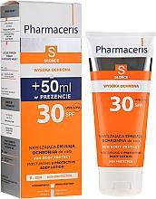 Духи, Парфюмерия, косметика Солнцезащитный лосьон для тела - Pharmaceris S Sun Protect Moisturizing Body Lotion SPF30