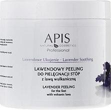 "Духи, Парфюмерия, косметика Пилинг для ног ""Лаванда"" - APIS Professional Lavender Soothing Lavender Peeling For Foot Care"