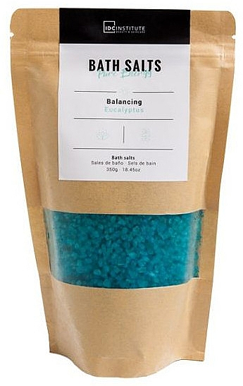 """Соль для ванны """"Pure Energy"""", эвкалипт - IDC Institute Bath Salts Balancing Eucaliptus — фото N1"""