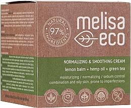 Духи, Парфюмерия, косметика Разглаживающий нормализующий крем для лица - Melisa Eco