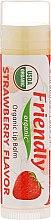 "Духи, Парфюмерия, косметика Бальзам для губ ""Клубника"" - Friendly Organic Lip Balm Strawberry"