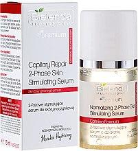 Духи, Парфюмерия, косметика Двухфазная стимулирующая сыворотка для куперозной кожи - Bielenda Professional Capilary Repair 2-Phase Skin Simulating Serum