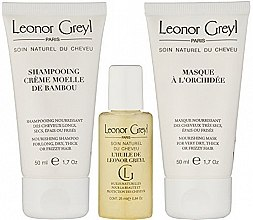 Духи, Парфюмерия, косметика Дорожный набор для волос - Leonor Greyl Travel Kit (shm/50ml + oil/25ml + mask/50ml)