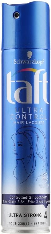 """Лак для волос """"3 погоды"""", сверхсильная фиксация - Schwarzkopf Taft Ultra Control Hairspray — фото N1"""