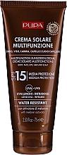 Духи, Парфюмерия, косметика Увлажняющий солнцезащитный крем SPF 15 - Pupa Multifunction Sunscreen Cream