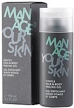 Духи, Парфюмерия, косметика Гель-пилинг для лица и тела - Dr. Spiller Manage Your Skin Gentle Face & Body Peeling Gel