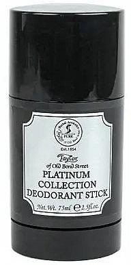 Taylor of Old Bond Street Platinum Collection - Дезодорант-стик — фото N1