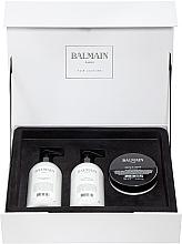 Духи, Парфюмерия, косметика Набор - Balmain Paris Hair Couture Moisturizing Care Set (shm/300ml + cond/300ml + mask/200ml)
