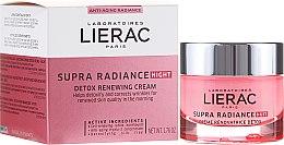 Духи, Парфюмерия, косметика Крем-детокс ночной обновляющий - Lierac Supra Radiance Creme Renovatrice Detox Nuit