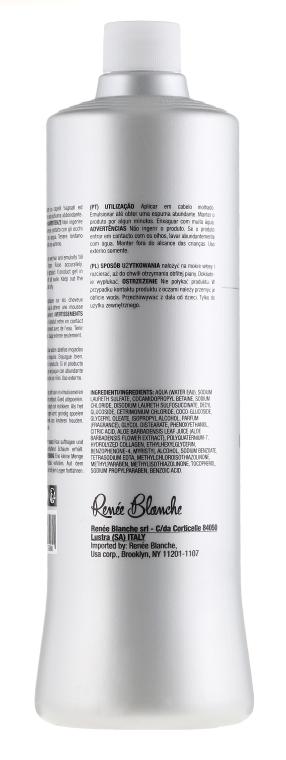 Питательный и восстанавливающий шампунь для волос - Renee Blanche Haute Coiffure  — фото N2