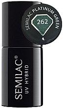 Духи, Парфюмерия, косметика Гибридный лак для ногтей - Semilac Platinum UV Hybrid