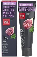 Духи, Парфюмерия, косметика Зубная паста - SPLAT Professional Bio Sensitive White Sensitivity Reduction & Gentle Whitening