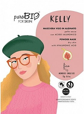 "Альгинатная маска ""Инжир"" - PuroBio Cosmetics Kelly Powder Mask Dry Skin — фото N1"