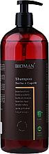Духи, Парфюмерия, косметика Шампунь для ухода за бородой и волосами с экстрактом овса - BioMAN Beard & Hair Shampoo
