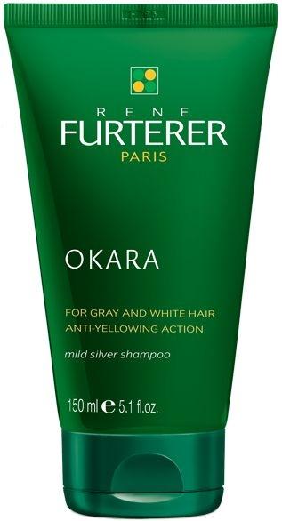 Оттеночный шампунь для седых и платиновых волос - Rene Furterer Okara Mild Silver Shampoo  — фото N1