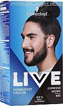 Духи, Парфюмерия, косметика Краска для волос - Schwarzkopf Live Men Permanent Colour